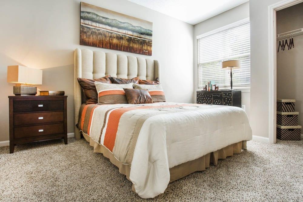 Bedroom at The Seasons at Umstead in Raleigh, North Carolina
