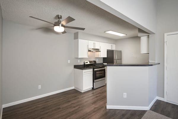 Separate dining area layout at Avery Park Apartments