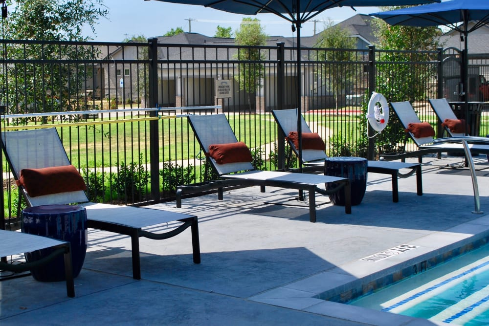 Outdoor seating area at Avilla Heritage