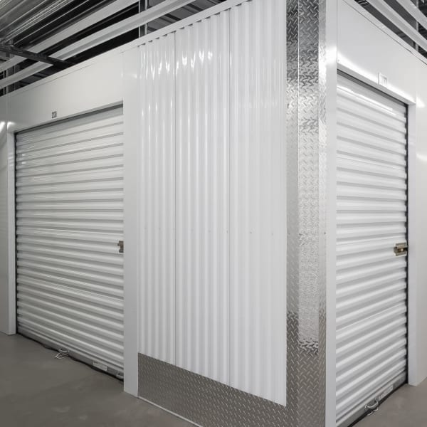 Climate controlled indoor units at StorQuest Self Storage in Stockton, California