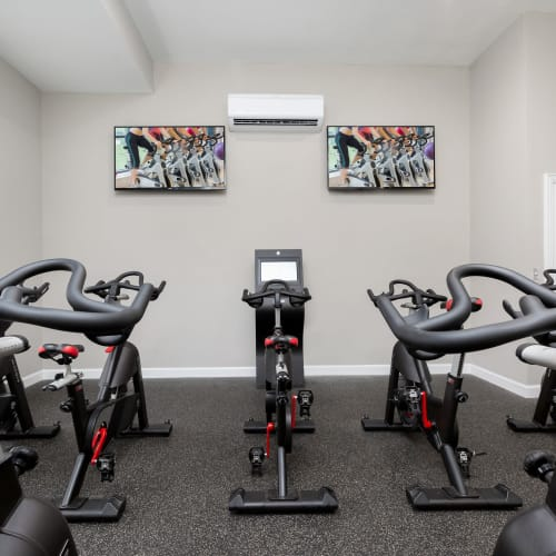 View virtual tour of our spin room at Parc at 980 in Lawrenceville, Georgia