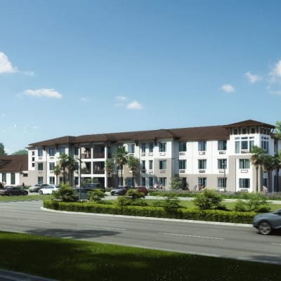 The community Inspired Living at Alura Rockledge in Rockledge, Florida