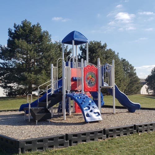 Playground at Brittany Bay Apartments and Townhomes in Groveport, Ohio