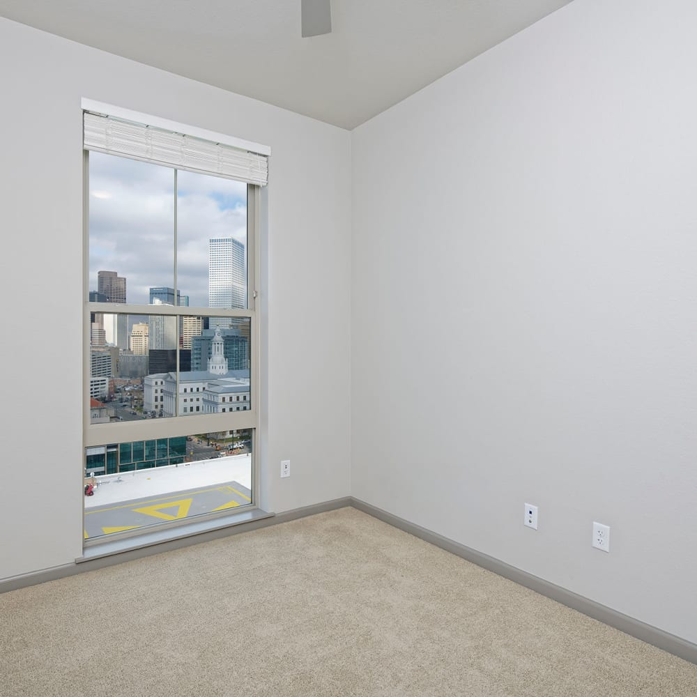 Bedroom at Civic Lofts | Luxury Apartments in Denver, Colorado