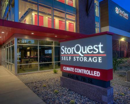 Signage at StorQuest Self Storage in Buckeye, AZ