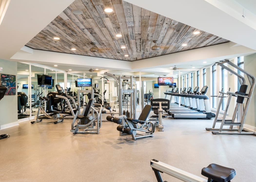 The Heyward offers a fitness center in Charleston, South Carolina