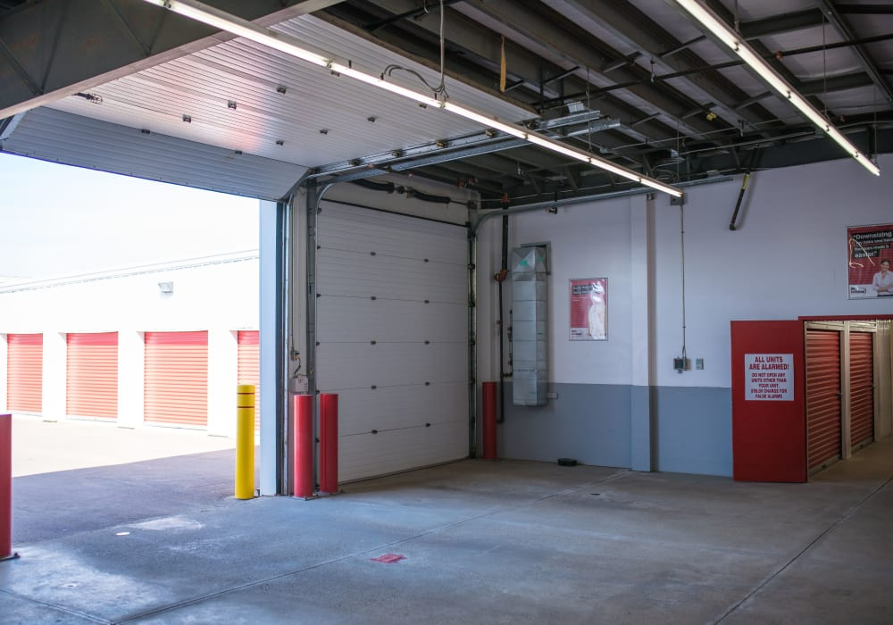 Loading area at Apple Self Storage - Moncton in Moncton, New Brunswick