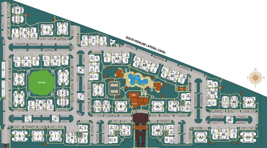 San Sonoma site plan