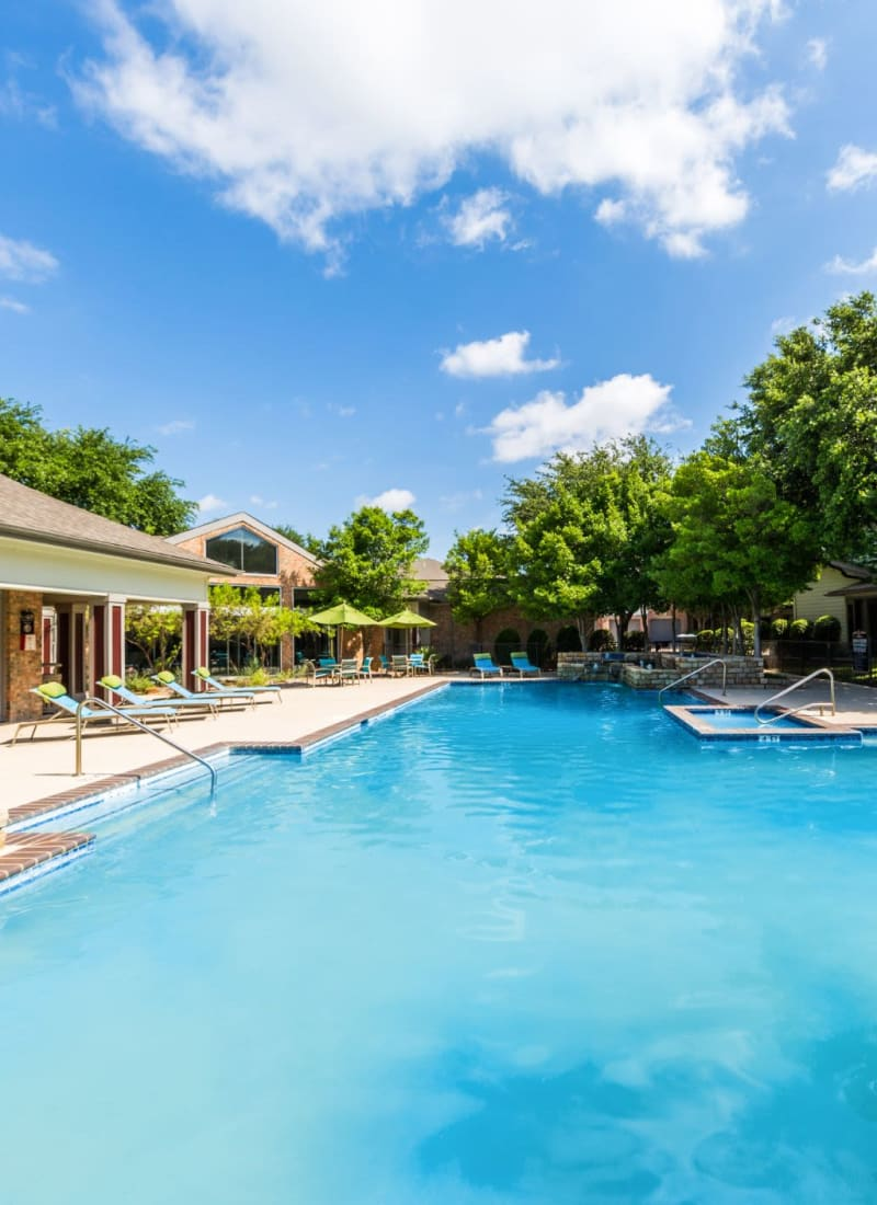 View our amenities at Brooks on Preston in Plano, Texas