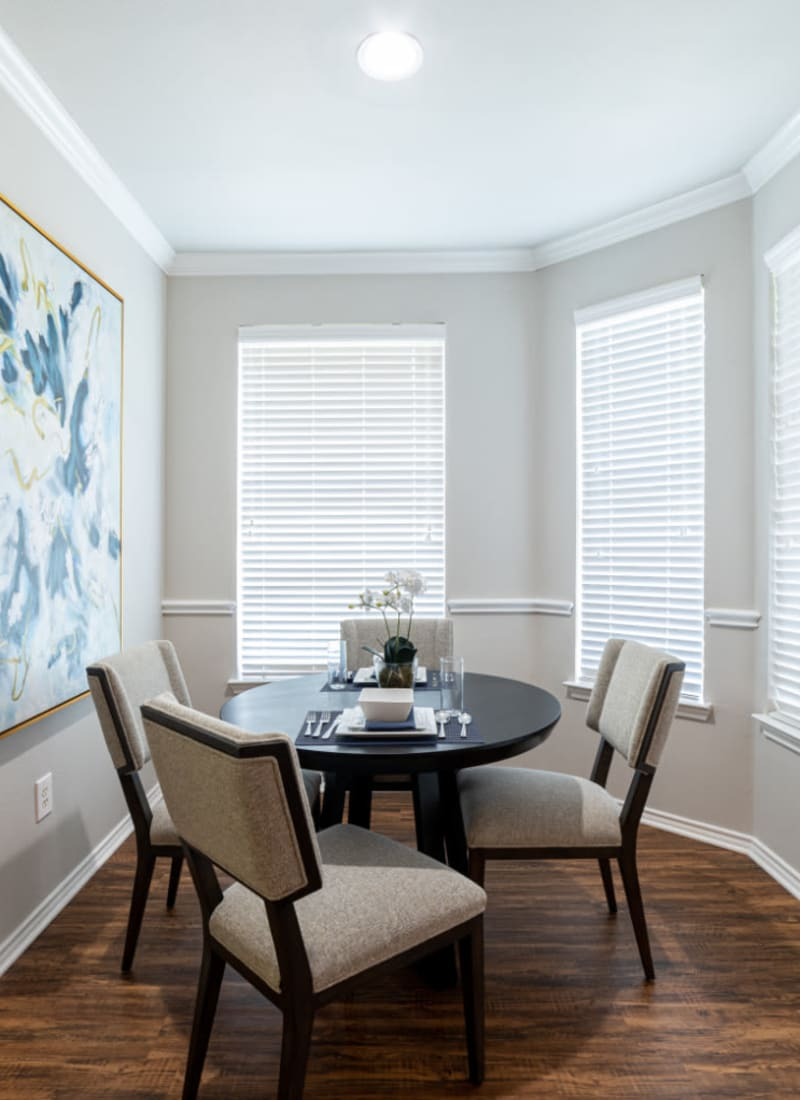 View our floor plans at Marquis at Bellaire Ranch in Fort Worth, Texas
