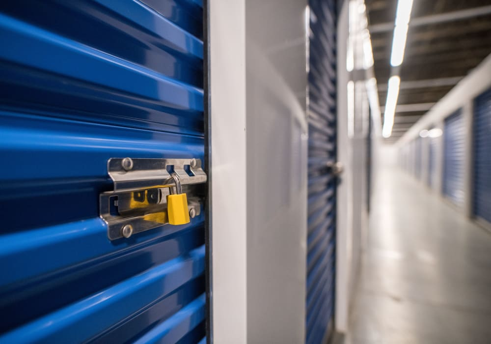 Interior units available at Apple Self Storage - Mississauga East in Mississauga, Ontario