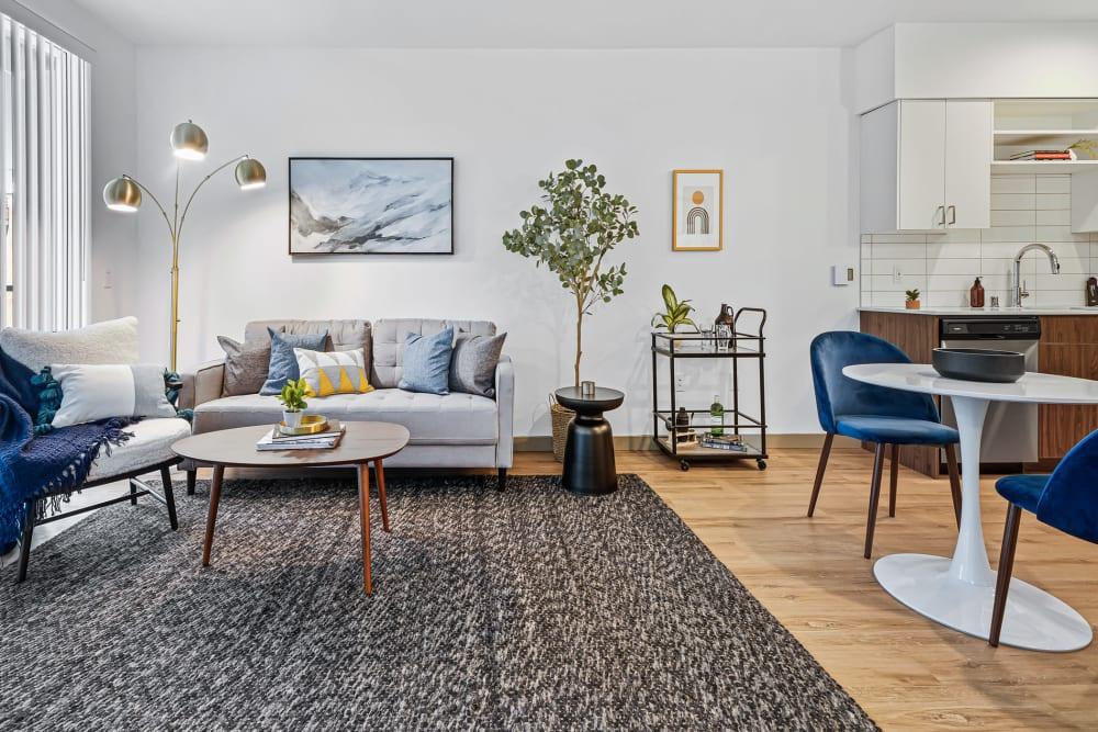 Living Room at The Verge in Auburn, Washington
