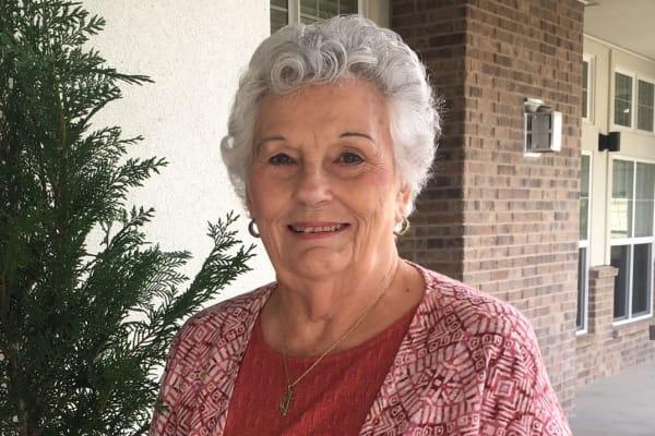 Resident at Maple Ridge Gracious Retirement Living in Cedar Park, Texas