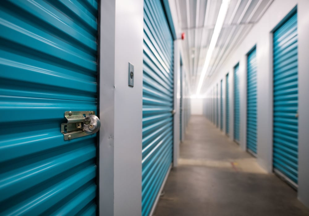 Apple Self Storage - Waterloo in Waterloo, Ontario, interior storage units