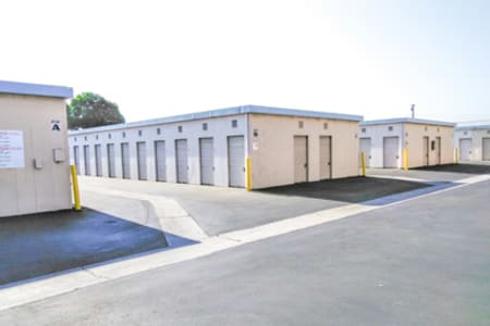 Outdoor Units At Our Lakewood Self Storage Facility