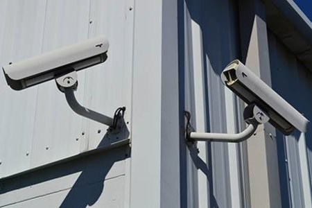 Security Cameras At Our Lakewood Self Storage Facility