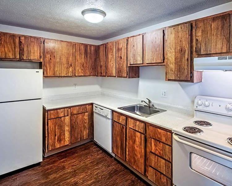 Modern kitchen at Westpointe Apartments