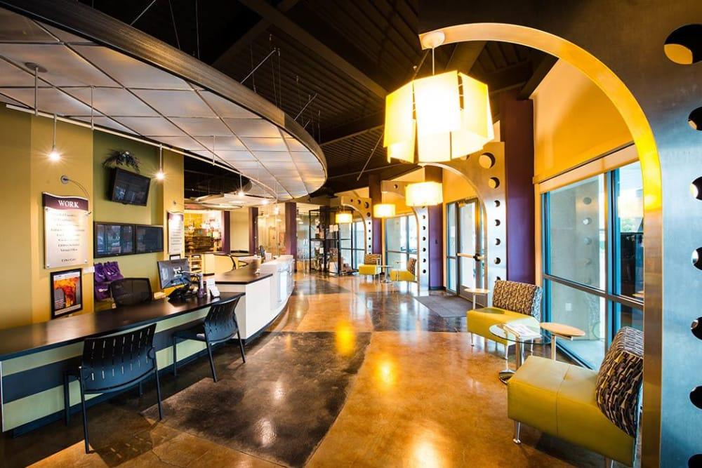 Lobby at Stor It Self Storage & Business Center in Clovis, California