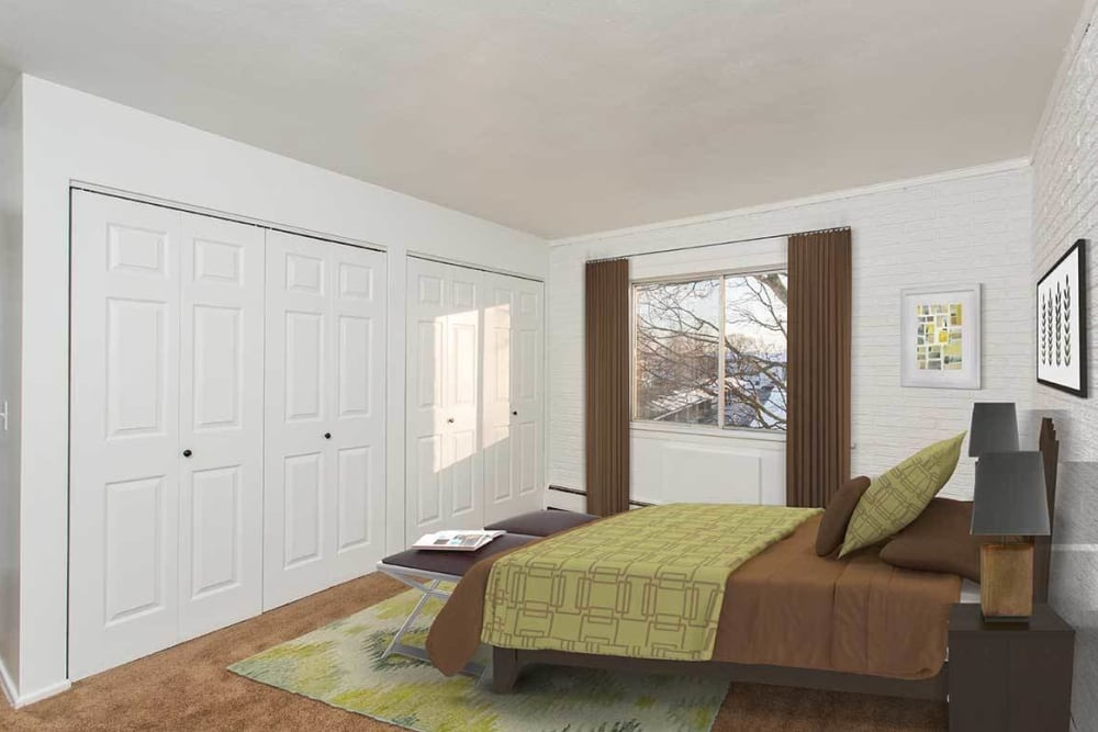 Wedgewood West offers a luxury bedroom in Rochester, New York