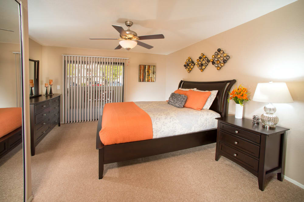 Bedroom layout at San Marin at the Civic Center in Scottsdale, Arizona