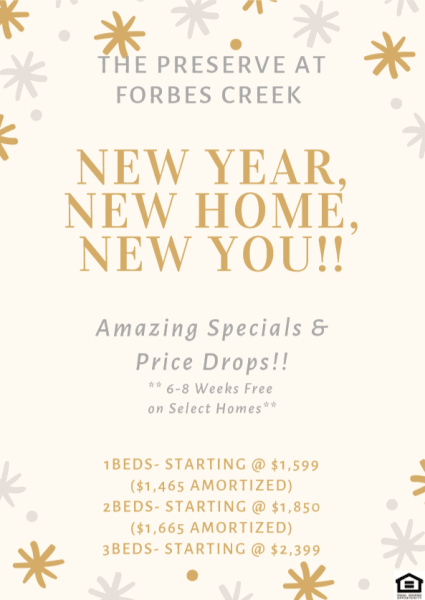 The Preserve at Forbes Creek Special