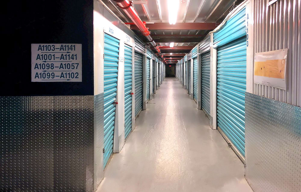 Climate Controlled Units at Prime Storage in Fair Lawn, New Jersey
