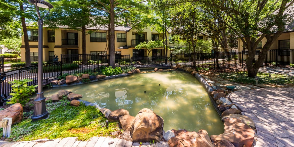 Pond at Marquis at Waterview in Richardson, Texas