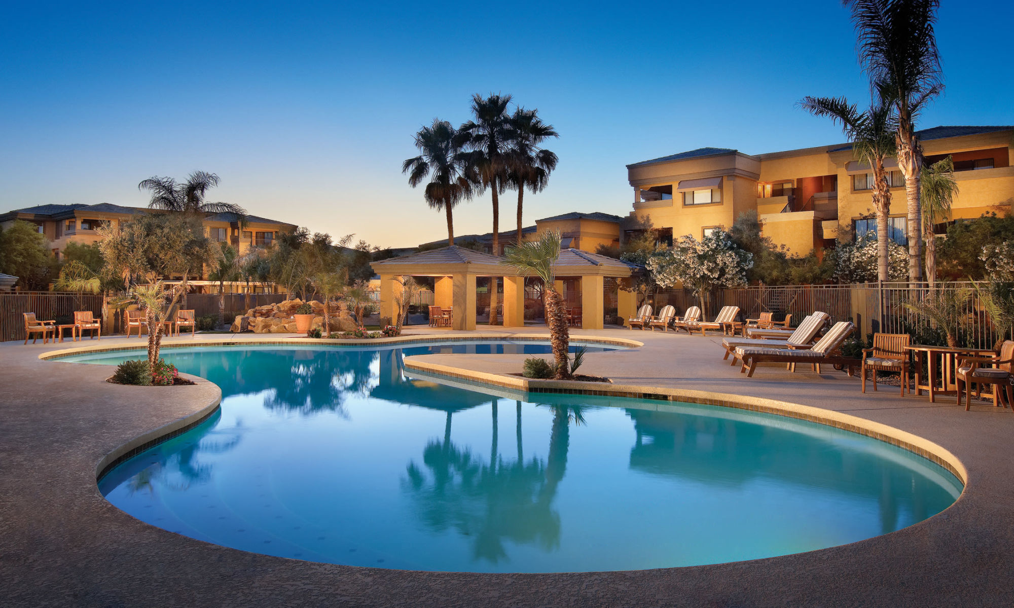 Apartments at Waterside at Ocotillo in Chandler, Arizona