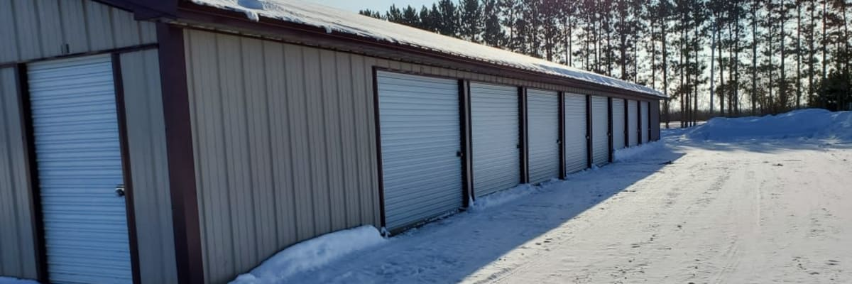 Unit sizes and prices at KO Storage of Cass County in Pillager, Minnesota