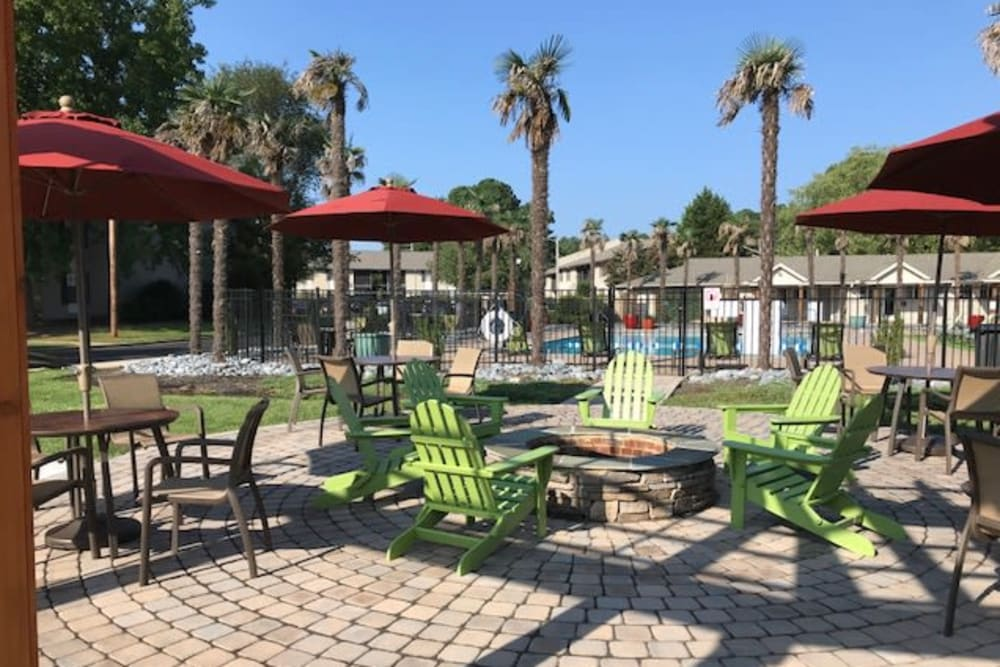 Chill on the Pool Deck with all your friends at Berkshire 54 in Carrboro, North Carolina