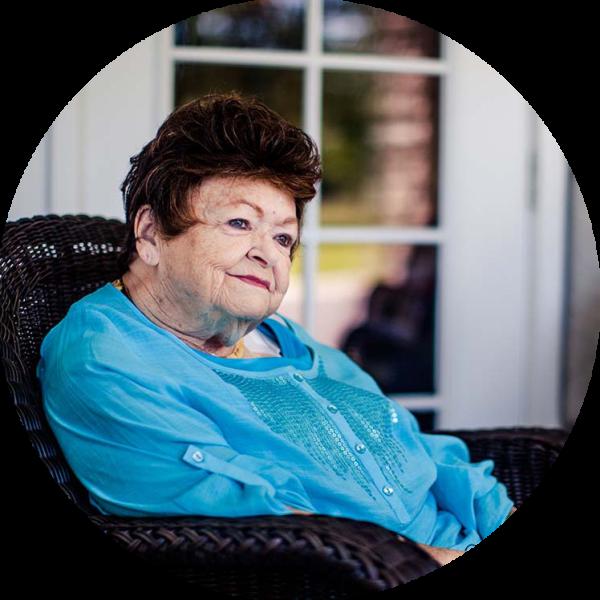 Shirley Fowler, resident, at The Lakes of Paducah in Paducah, Kentucky