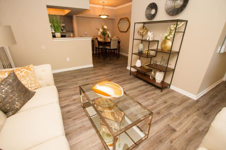 Living Room at Veranda in Texas City, Texas