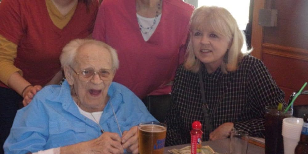 Richard from our Dare to Dream program at Meadow Lakes Senior Living in Rochester, Minnesota.