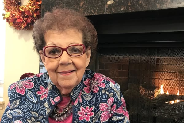 Mary Bratta at Mulberry Gardens Assisted Living in Munroe Falls, Ohio