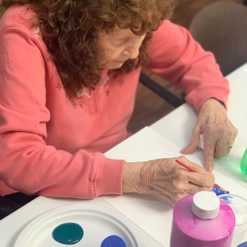 A painting project at FountainBrook in Midwest City, Oklahoma