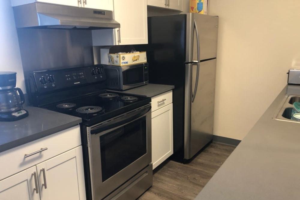 Model kitchen at Park Terrace in Arvada, Colorado
