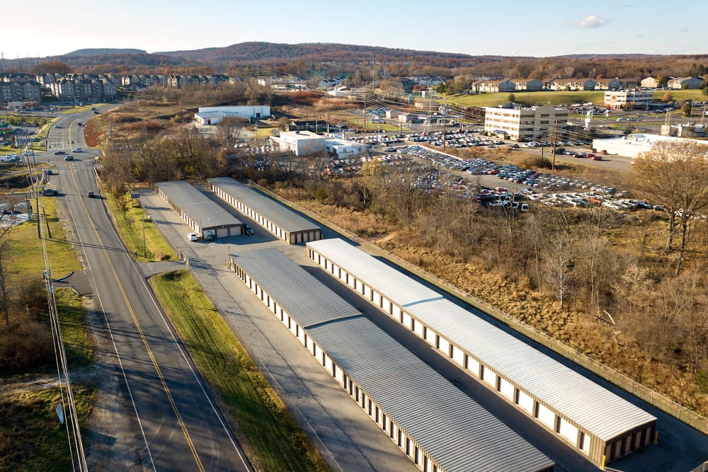Aerial view of Prime Storage in Middletown, NY