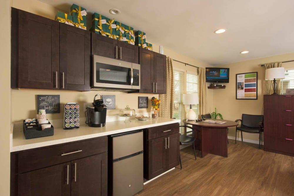 Community kitchen at Park Villas Apartments in Lexington Park, Maryland