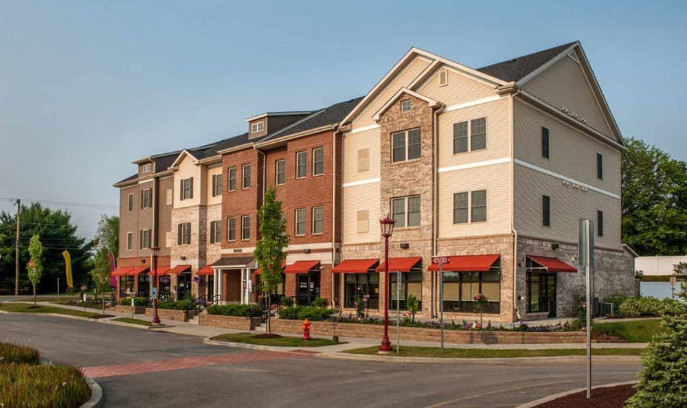 Welcome to Rochester Village Apartments at Park Place located in Cranberry Township, PA