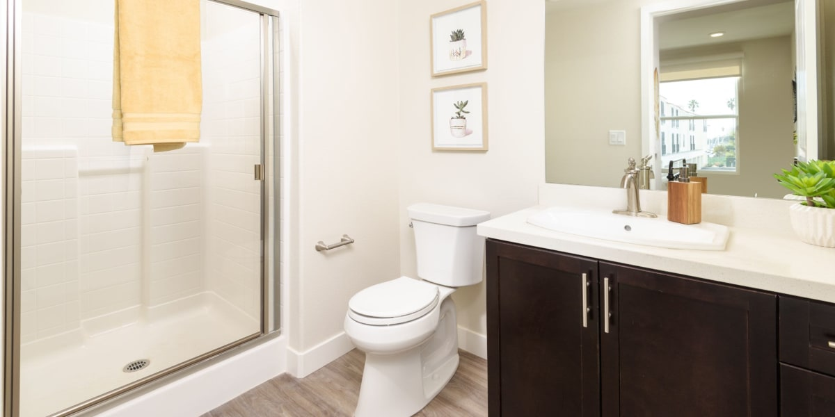 Bathroom at Portside Ventura Harbor in Ventura, California