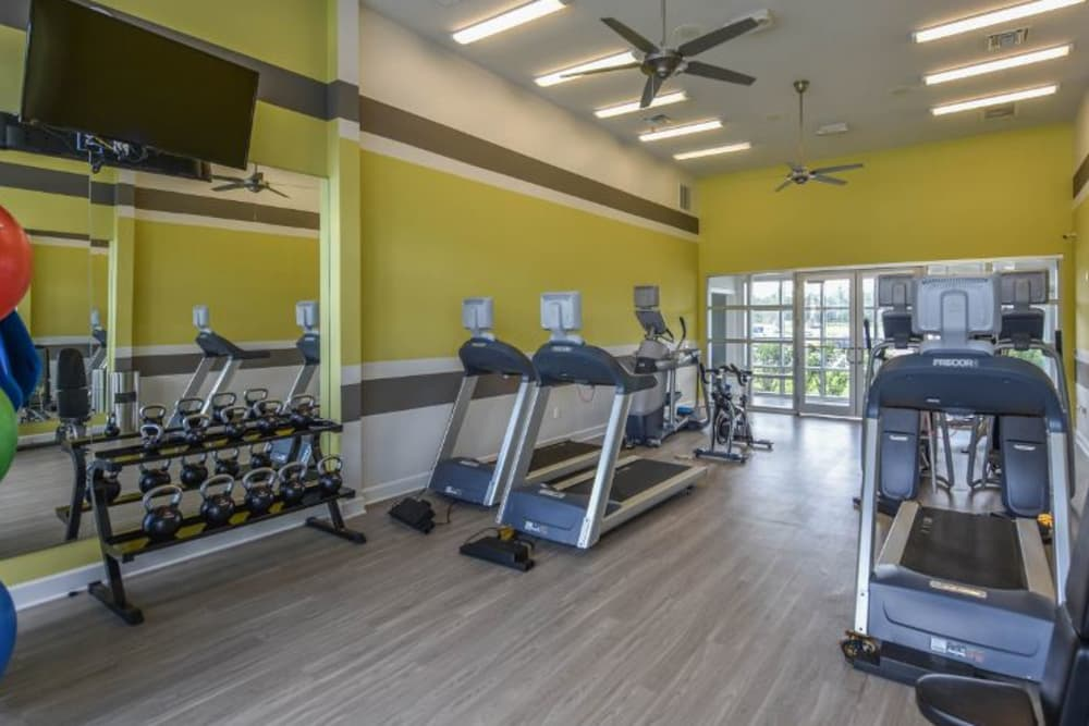 Fitness center at Springs at South Elgin in South Elgin