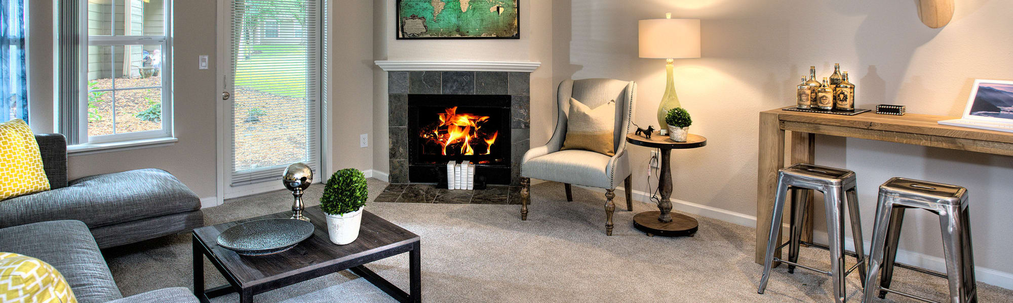 Floor plans at Slate Ridge at Fisher's Landing Apartment Homes in Vancouver, Washington