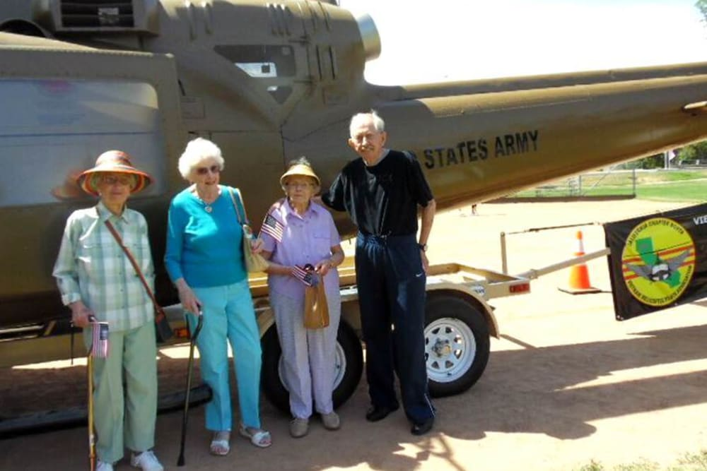 Air Show near Hilltop Commons Senior Living in Grass Valley, California