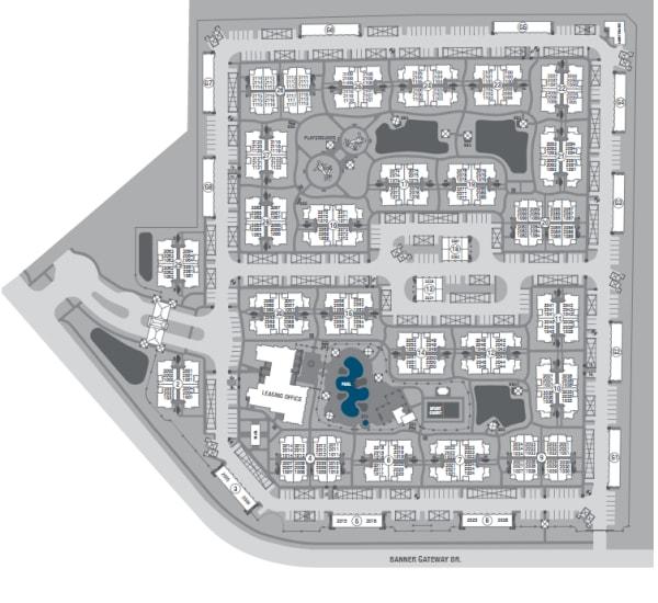 San Piedra site plan