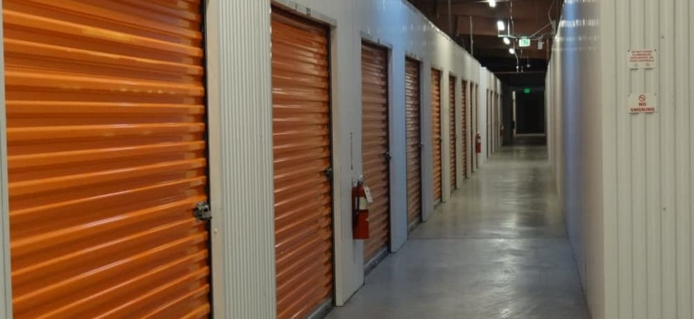 Climate controlled units at AAA Platte Self Storage in Colorado Springs