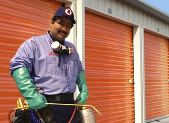 Regular pest control at A-1 Self Storage in North Hollywood, California