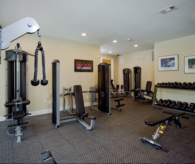 HarborFit fitness center at Holland Park in Lawrenceville, Georgia