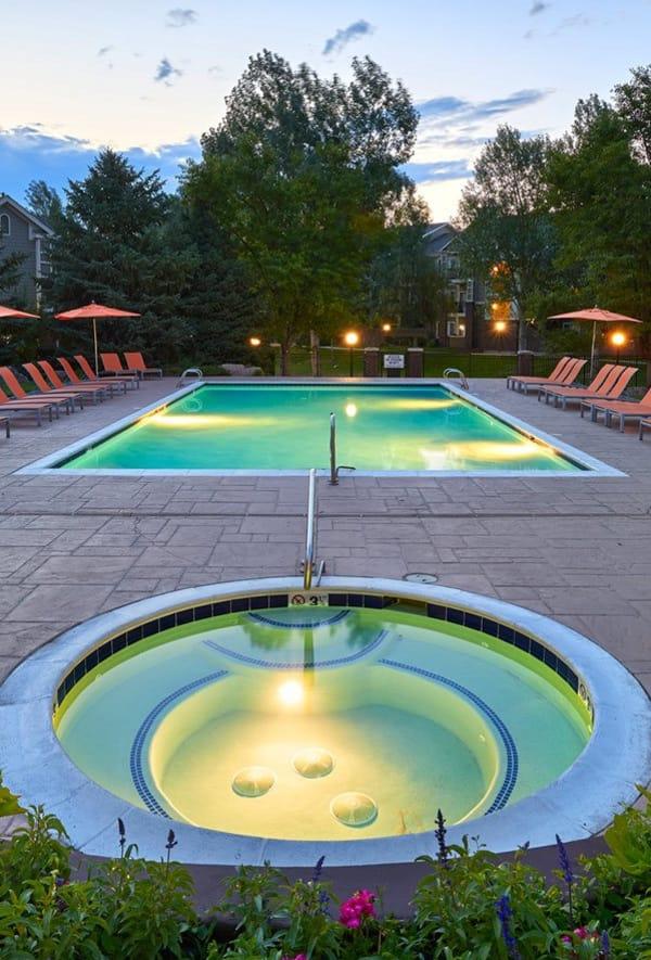 Pool at Legend Oaks Apartments in Denver