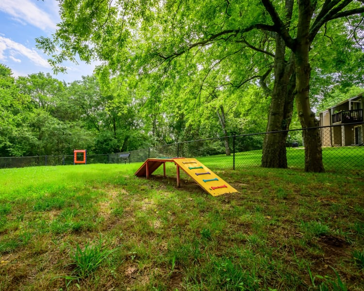 Dog park near The Hamilton in Hendersonville, Tennessee