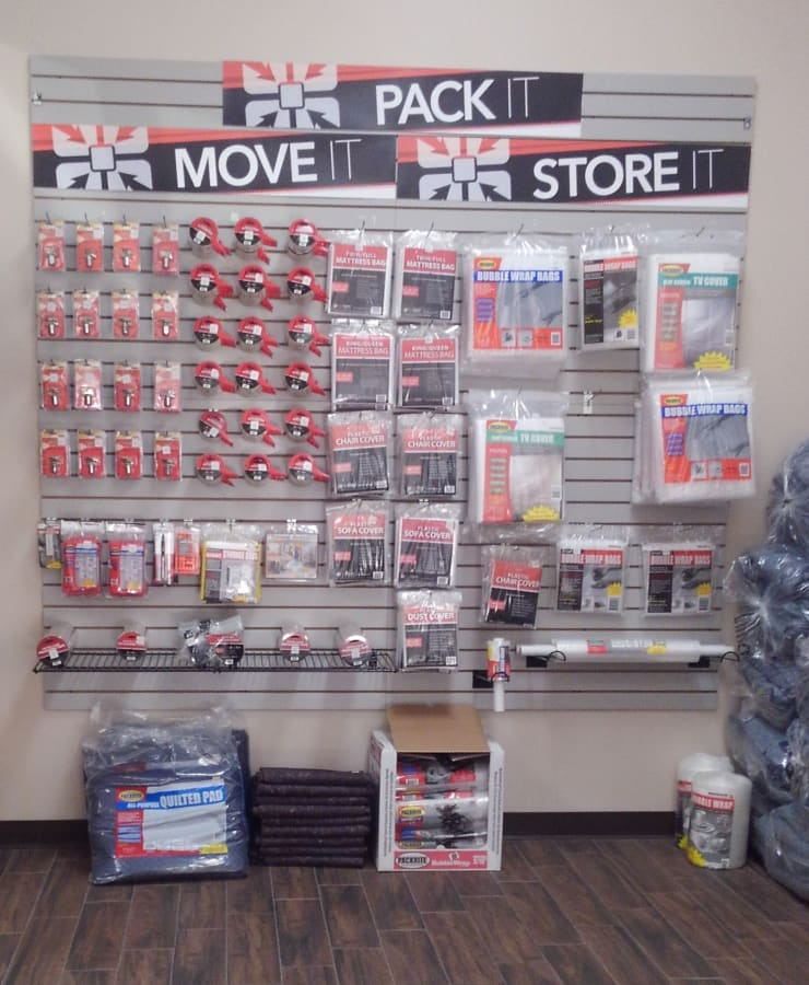 Packing supplies available at StorQuest Self Storage in Sanford, Florida